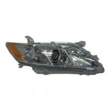 2007 - 2009 Toyota Camry Front Headlight Assembly Replacement Housing / Lens / Cover - Right (Passenger) Side - (SE)