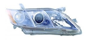 2007 -  2009 Toyota Camry Front Headlight Assembly Replacement Housing / Lens / Cover - Right (Passenger) Side - (Gas Hybrid)