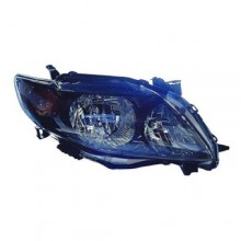 2009 -  2010 Toyota Corolla Front Headlight Assembly Replacement Housing / Lens / Cover - Right (Passenger) Side - (S + XRS)