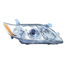 2007 -  2009 Toyota Camry Front Headlight Assembly Replacement Housing / Lens / Cover - Right (Passenger) Side - (Base Model + CE + LE + SE + XLE)