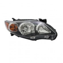 2011 -  2013 Toyota Corolla Front Headlight Assembly Replacement Housing / Lens / Cover - Right (Passenger) Side - (S)