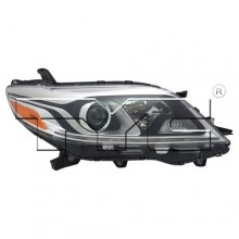 2015 - 2020 Toyota Sienna Front Headlight Assembly Replacement Housing / Lens / Cover - Right (Passenger) Side - (Limited + XLE)
