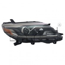 2015 - 2019 Toyota Sienna Front Headlight Assembly Replacement Housing / Lens / Cover - Right (Passenger) Side - (SE)