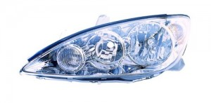 2005 -  2006 Toyota Camry Front Headlight Assembly Replacement Housing / Lens / Cover - Left (Driver) Side - (LE + XLE)