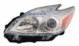 2010 -  2011 Toyota Prius Front Headlight Assembly Replacement Housing / Lens / Cover - Left (Driver) Side