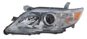 2010 -  2011 Toyota Camry Front Headlight Assembly Replacement Housing / Lens / Cover - Left (Driver) Side