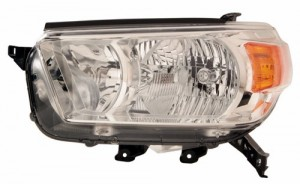 2010 -  2013 Toyota 4Runner Front Headlight Assembly Replacement Housing / Lens / Cover - Left (Driver) Side - (Limited + SR5)