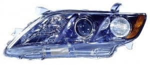 2007 -  2009 Toyota Camry Front Headlight Assembly Replacement Housing / Lens / Cover - Left (Driver) Side - (SE)