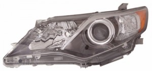 2012 -  2014 Toyota Camry Front Headlight Assembly Replacement Housing / Lens / Cover - Left (Driver) Side