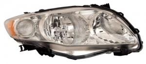 2009 -  2010 Toyota Corolla Front Headlight Assembly Replacement Housing / Lens / Cover - Right (Passenger) Side