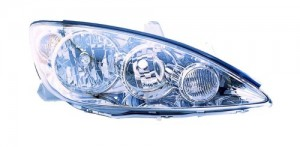 2005 -  2006 Toyota Camry Front Headlight Assembly Replacement Housing / Lens / Cover - Right (Passenger) Side - (LE + XLE)