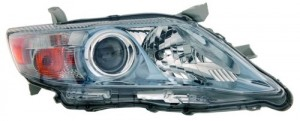 2010 -  2011 Toyota Camry Front Headlight Assembly Replacement Housing / Lens / Cover - Right (Passenger) Side - (Gas Hybrid)