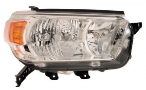2010 -  2013 Toyota 4Runner Front Headlight Assembly Replacement Housing / Lens / Cover - Right (Passenger) Side - (Limited + SR5)