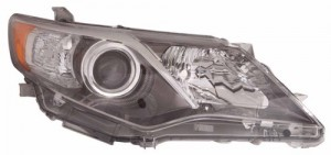 2012 -  2014 Toyota Camry Front Headlight Assembly Replacement Housing / Lens / Cover - Right (Passenger) Side