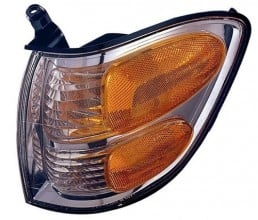 2004 Toyota Tundra Turn Signal Light Assembly Replacement / Lens Cover - Front Left (Driver) Side - (Crew Cab Pickup)