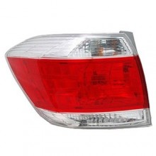 2011 - 2012 Toyota Highlander Rear Tail Light Assembly Replacement / Lens / Cover - Left (Driver) Side