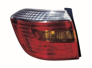 2010 Toyota Highlander Rear Tail Light Assembly Replacement / Lens / Cover - Left (Driver) Side - (Sport)
