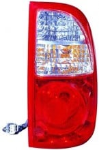 2005 -  2006 Toyota Tundra Rear Tail Light Assembly Replacement / Lens / Cover - Right (Passenger) Side - (Standard Cab Pickup + Extended Cab Pickup)
