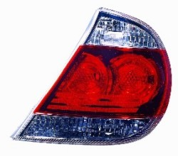 2005 - 2006 Toyota Camry Rear Tail Light Assembly Replacement / Lens / Cover - Right (Passenger) Side - (SE)