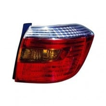 2008 - 2010 Toyota Highlander Rear Tail Light Assembly Replacement / Lens / Cover - Right (Passenger) Side - (Sport + Sport Premium)