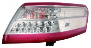 2010 -  2011 Toyota Camry Rear Tail Light Assembly Replacement / Lens / Cover - Right (Passenger) Side - (Gas Hybrid)