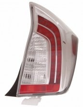 2012 - 2015 Toyota Prius Rear Tail Light Assembly Replacement / Lens / Cover - Right (Passenger) Side