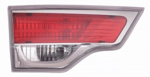 2014 - 2016 Toyota Highlander Rear Tail Light Assembly Replacement / Lens / Cover - Left (Driver) Side Inner