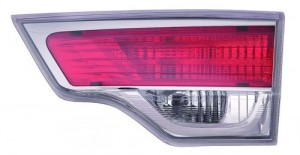 2014 -  2016 Toyota Highlander Rear Tail Light Assembly Replacement / Lens / Cover - Right (Passenger) Side Inner