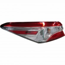 2018 - 2020 Toyota Camry Tail Light Rear Lamp - Left (Driver) (CAPA Certified)