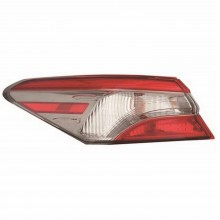 2018 - 2019 Toyota Camry Tail Light Rear Lamp - Left (Driver) (CAPA Certified)