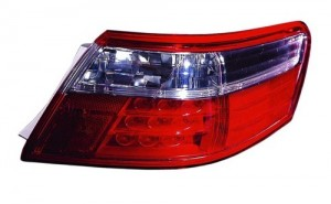2007 -  2009 Toyota Camry Rear Tail Light Assembly Replacement / Lens / Cover - Right (Passenger) Side Outer - (Hybrid Gas Hybrid)