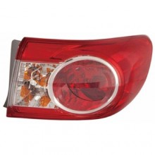 2011 -  2013 Toyota Corolla Rear Tail Light Assembly Replacement / Lens / Cover - Right (Passenger) Side Outer