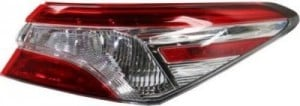 2018 - 2019 Toyota Camry Tail Light Rear Lamp - Right (Passenger)