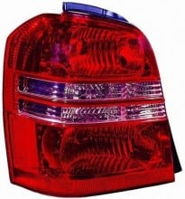 2001 - 2003 Toyota Highlander Rear Tail Light Assembly Replacement Housing / Lens / Cover - Left (Driver) Side