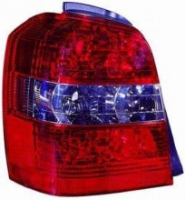 2004 - 2007 Toyota Highlander Rear Tail Light Assembly Replacement Housing / Lens / Cover - Left (Driver) Side