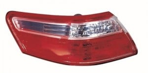 2007 - 2009 Toyota Camry Rear Tail Light Assembly Replacement Housing / Lens / Cover - Left (Driver) Side