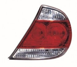 2005 -  2006 Toyota Camry Rear Tail Light Assembly Replacement Housing / Lens / Cover - Left (Driver) Side - (LE + XLE)