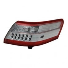 2010 -  2011 Toyota Camry Rear Tail Light Assembly Replacement Housing / Lens / Cover - Left (Driver) Side - (Gas Hybrid)