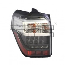 2014 -  2015 Toyota 4Runner Rear Tail Light Assembly Replacement Housing / Lens / Cover - Left (Driver) Side