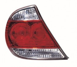 2005 - 2006 Toyota Camry Rear Tail Light Assembly Replacement Housing / Lens / Cover - Right (Passenger) Side - (LE + XLE)