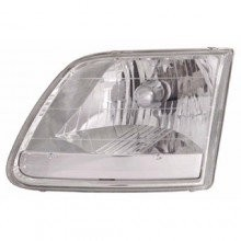 1996 - 2004 Ford F-150 Front Headlight Assembly Replacement Housing / Lens / Cover - Left (Driver) Side - (Lariat + STX + XL + XLT)