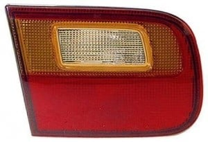 1992 -  1995 Honda Civic Rear Tail Light Assembly Replacement Housing / Lens / Cover - Left (Driver) Side - (4 Door; Sedan + 2 Door; Coupe)