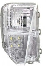 2012 - 2012 Toyota Prius Turn Signal Light Assembly Replacement / Lens Cover - Front Right (Passenger) Side