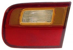 1992 - 1995 Honda Civic Rear Tail Light Assembly Replacement Housing / Lens / Cover - Right (Passenger) Side - (4 Door; Sedan + 2 Door; Coupe)