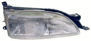 1995 -  1996 Toyota Camry Front Headlight Assembly Replacement Housing / Lens / Cover - Right (Passenger) Side