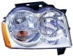 2005 -  2007 Jeep Grand Cherokee Front Headlight Assembly Replacement Housing / Lens / Cover - Right <u><i>Passenger</i></u> Side
