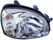 2003 Hyundai Santa Fe Front Headlight Assembly Replacement Housing / Lens / Cover - Right <u><i>Passenger</i></u> Side