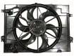 2005 -  2010 Kia Sportage Engine / Radiator Cooling Fan Assembly - (2.0L L4)