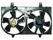 2000 Nissan Maxima Engine / Radiator Cooling Fan Assembly