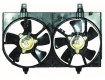 2002 -  2003 Nissan Maxima Engine / Radiator Cooling Fan Assembly